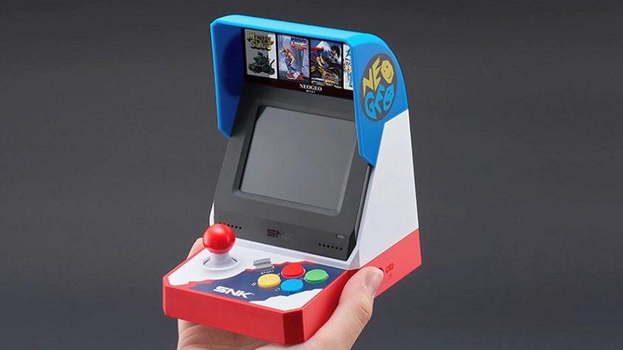 La Neo Geo Mini sortira le 24 juillet au Japon