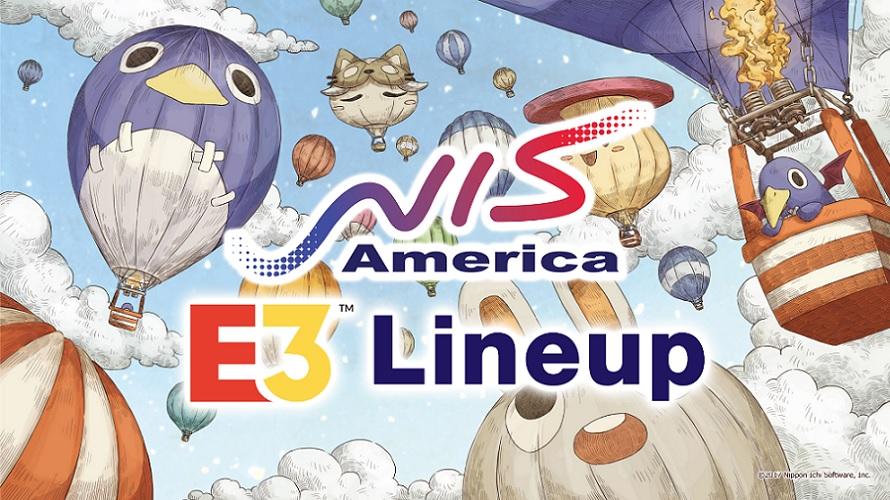 #E3 2018> NIS America dévoile son line-up