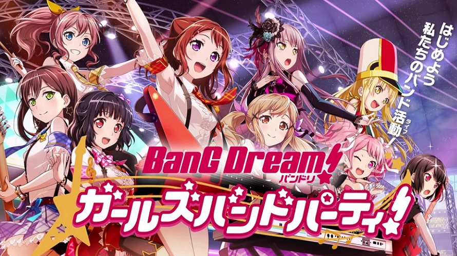 Charts J-Pop : BanG Dream! à deux doigts du podium