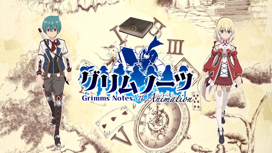 L'anime Grimms Notes dévoile son premier trailer