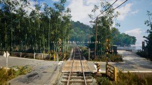 nostalgic train voie ferrée