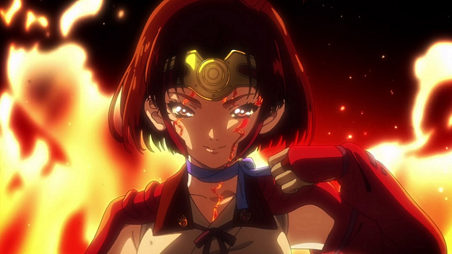 Le film Kabaneri of the Iron Fortress daté au Japon