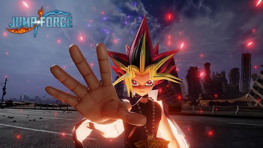 Yu-Gi-Oh! rejoint le casting de Jump Force