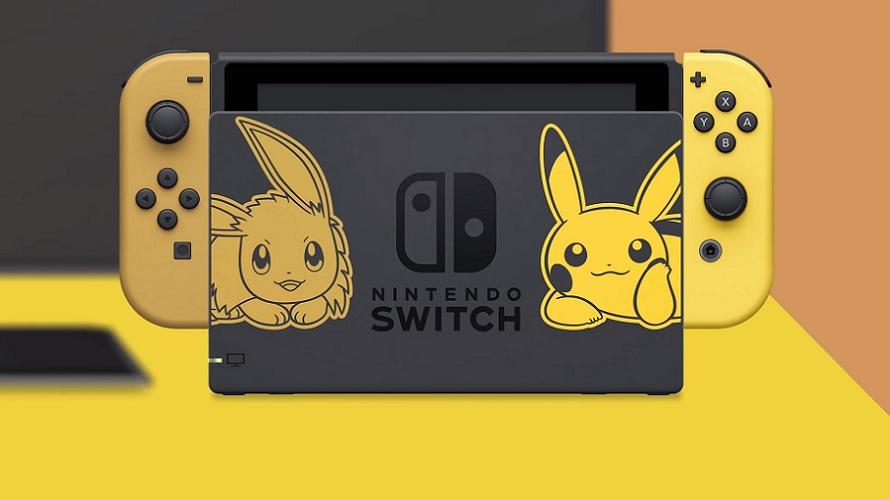 Nintendo dévoile une Switch aux couleurs de Pokémon