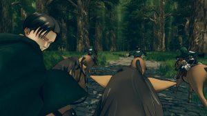 attaque des titans escape game vr Livaï