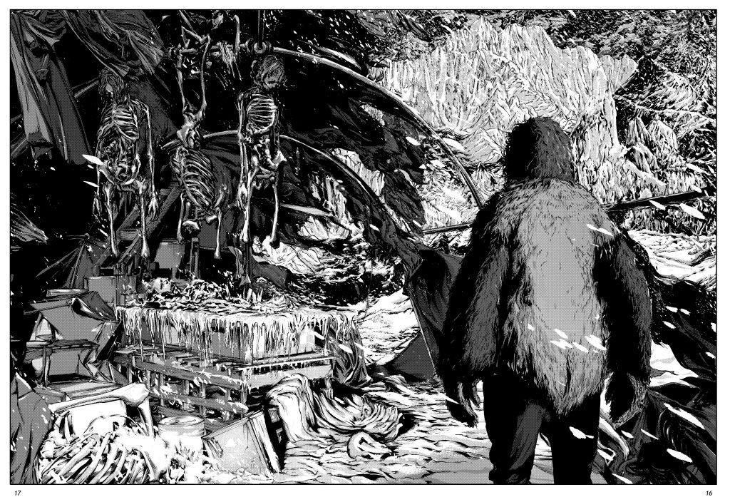les montagnes hallucinées lovecraft ki-oon