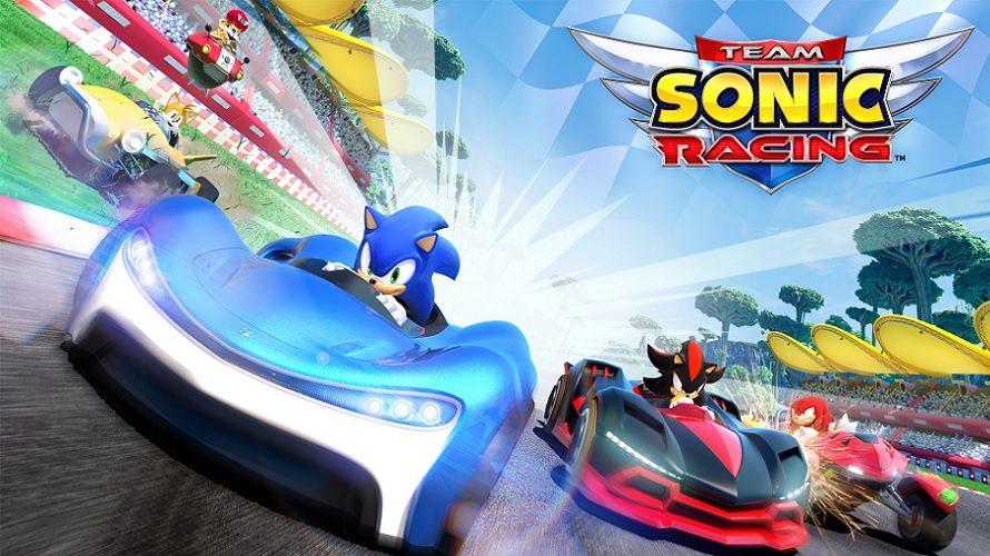 Team Sonic Racing repoussé en mai 2019