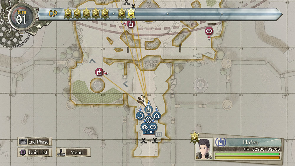 valkyria chronicles 4 carte