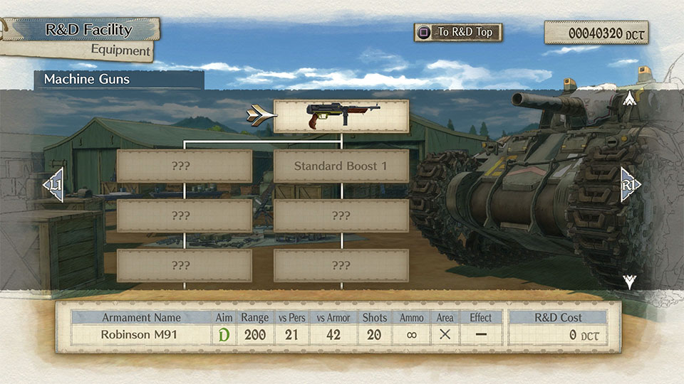 valkyria chronicles 4 customisation