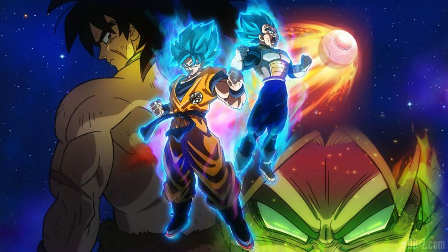 Dragon Ball Super : Broly, déjà 1 million d'entrées au Japon