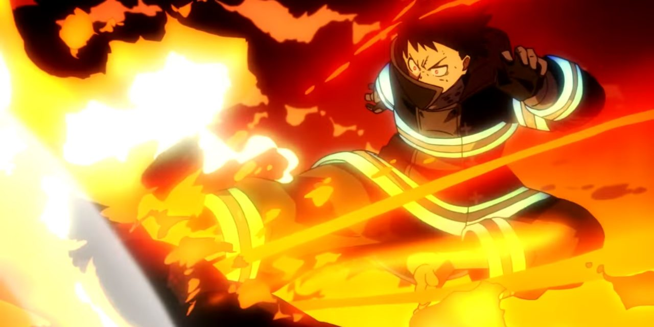 Un premier trailer pour l'anime Fire Force