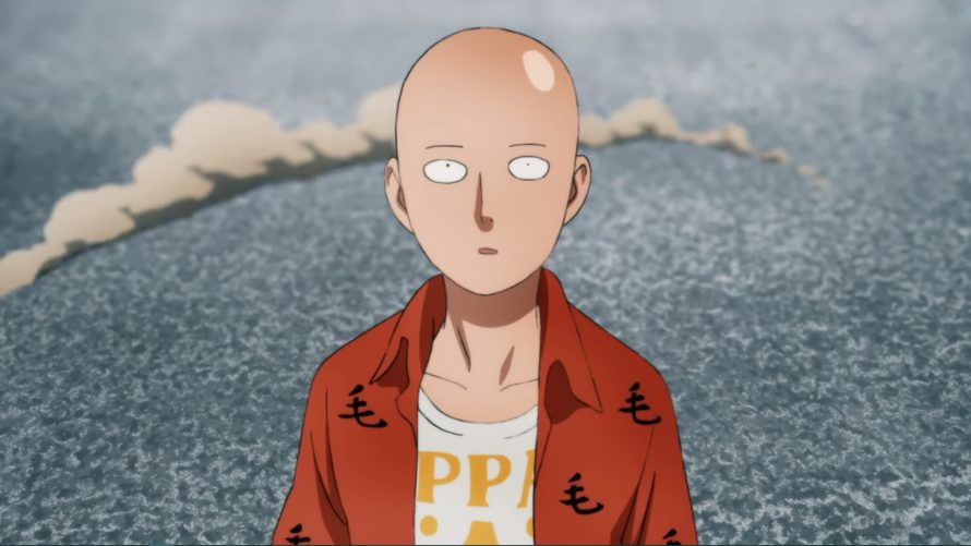 One-Punch Man : Un trailer pour la saison 2 de l'anime