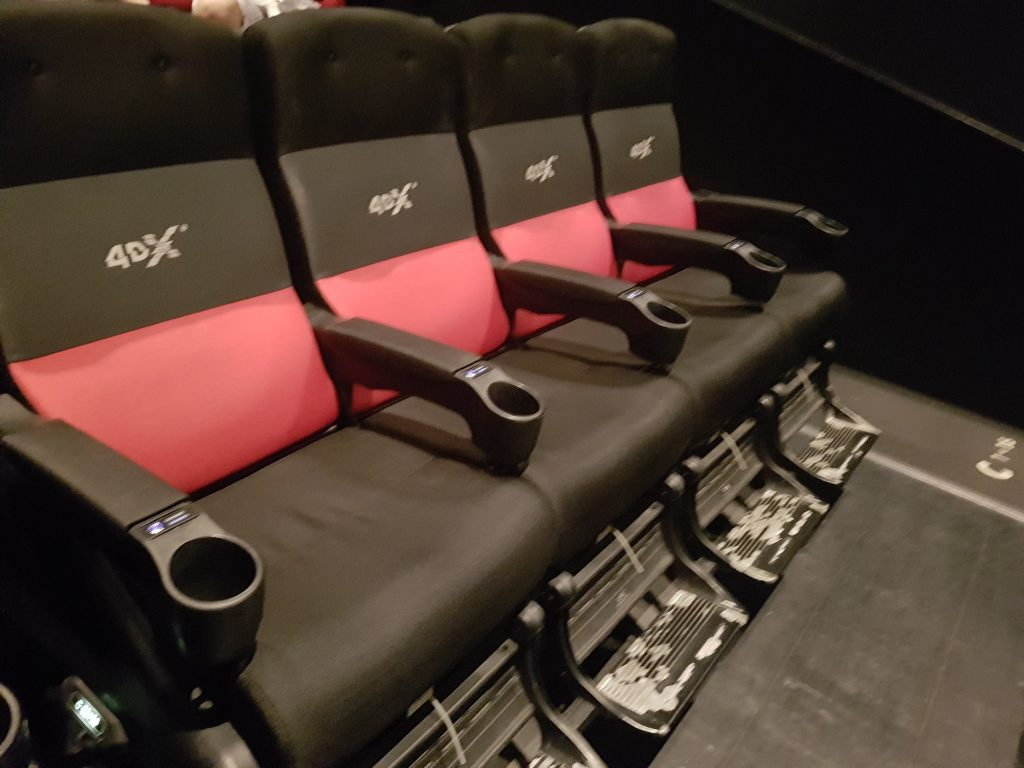 dragon ball super cinema 4dx sieges
