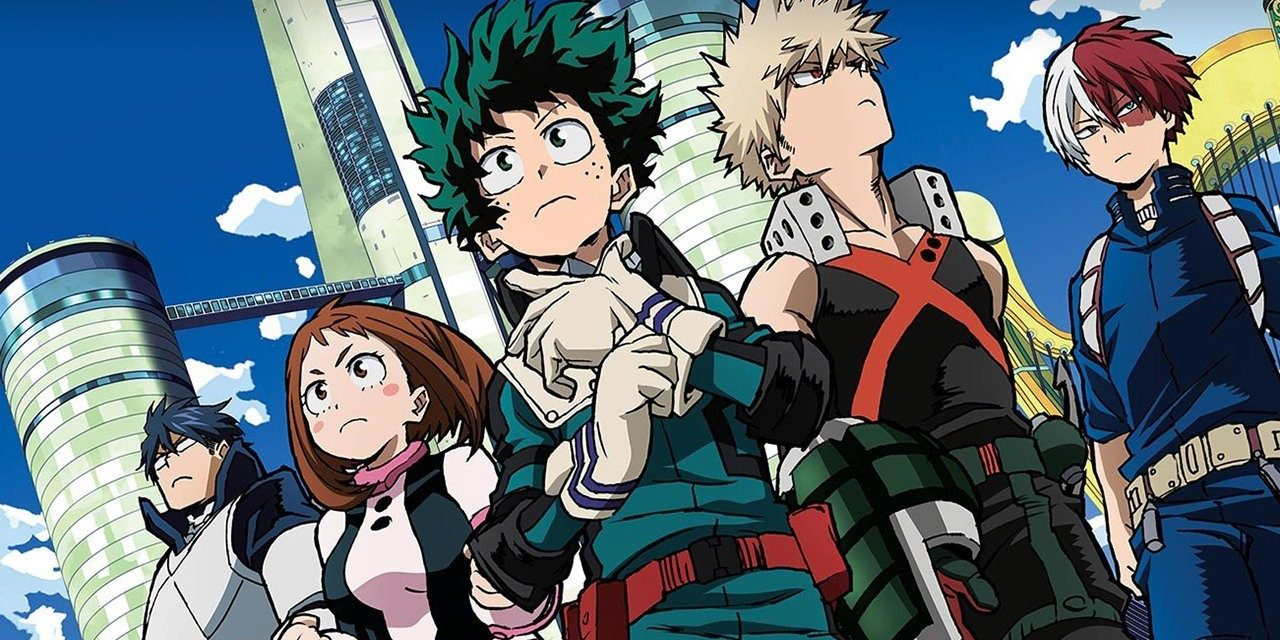 Charts anime : My Hero Academia, vainqueur par KO