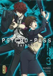 Psycho-Pass saison 2 tome 3