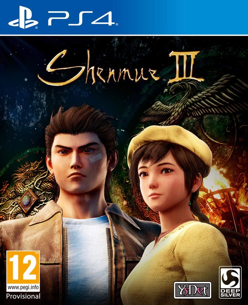 shenmue III jaquette ps4