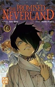 the promised neverland tome 6