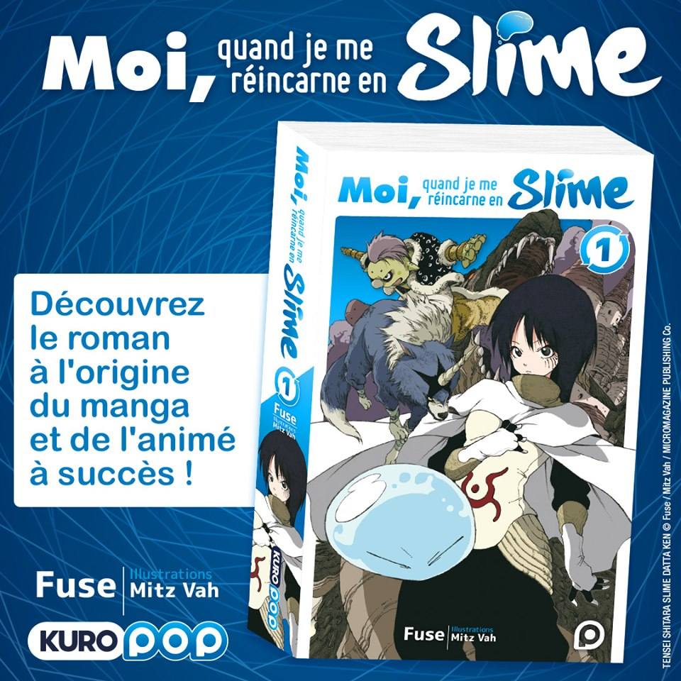 Moi, quand je me réincarne en Slime light novel