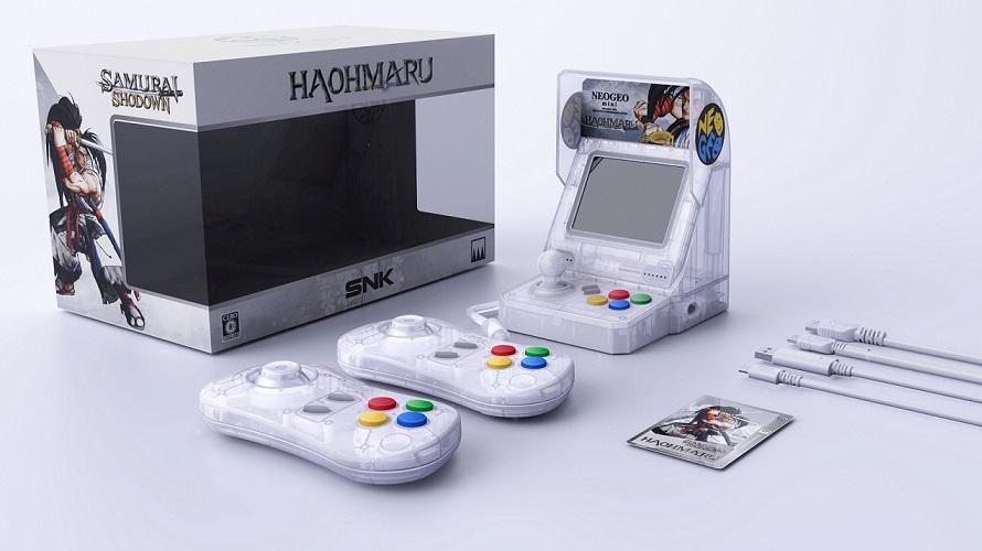 La Neo Geo Mini se met aux couleurs de Samurai Shodown