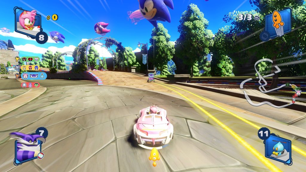 Team Sonic Racing course