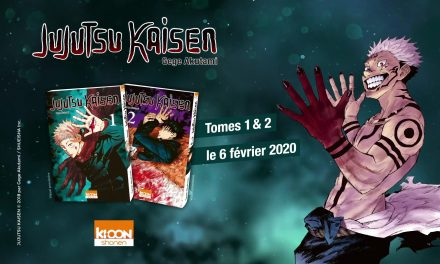 Ki-oon annonce Jujutsu Kaisen pour février 2020