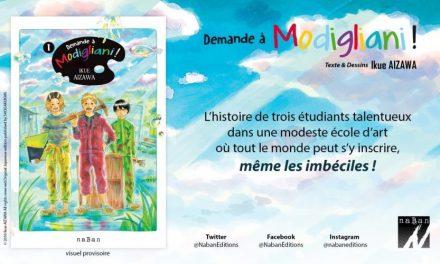 Naban, un nouvel éditeur de manga fait son apparition en France