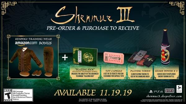 shenmue-III-précommande-Amazon