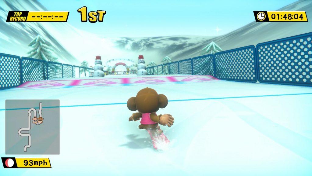 Super-Monkey-Ball-Banana-Blitz-Mini-game-Snowboarding
