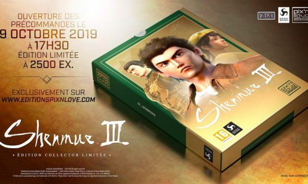 Shenmue III aura également son collector chez Pix'n Love