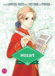Les grands noms de l'Histoire en manga - Mozart