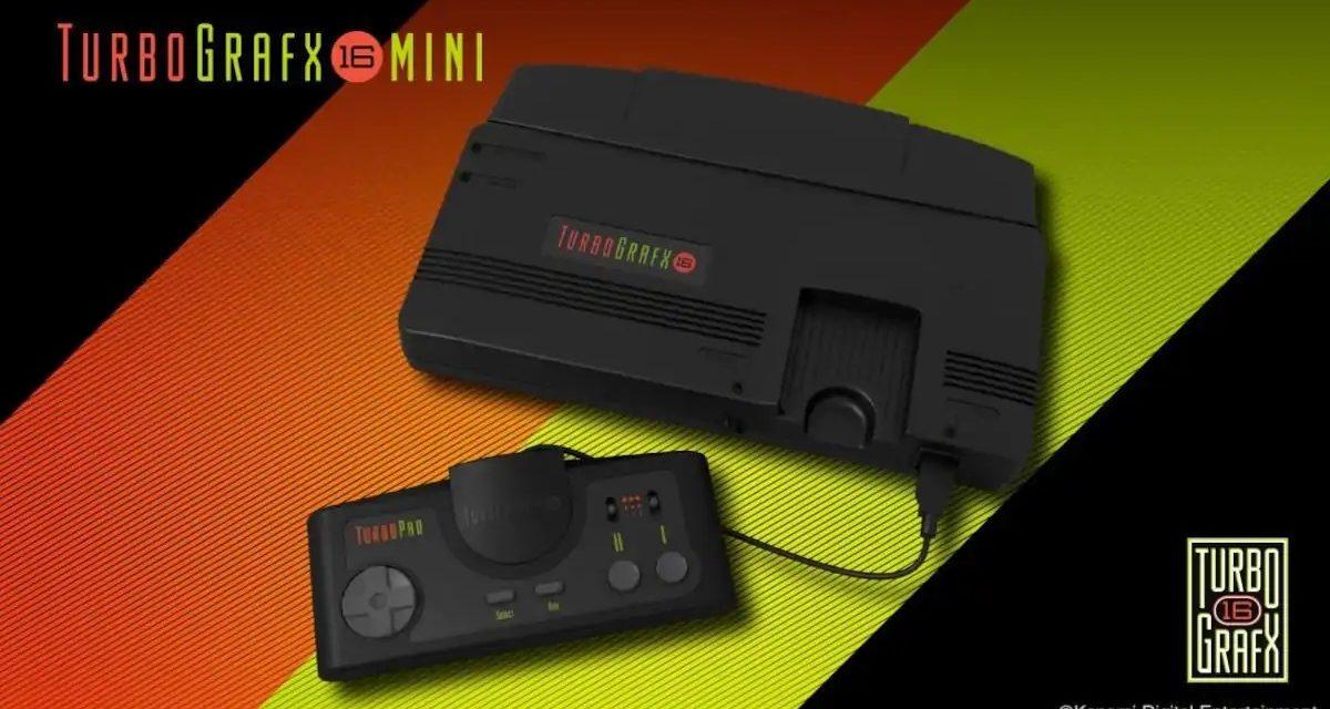 La TurboGrafx-16 Mini sortira finalement le 22 mai aux USA