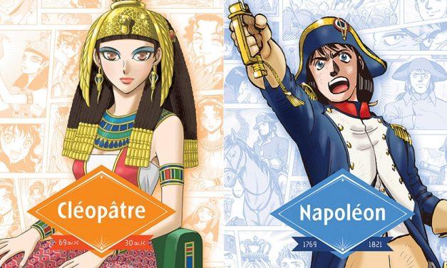 Critique manga : «Les Grands Noms de l'Histoire en Manga (Cléopâtre/Napoléon)»