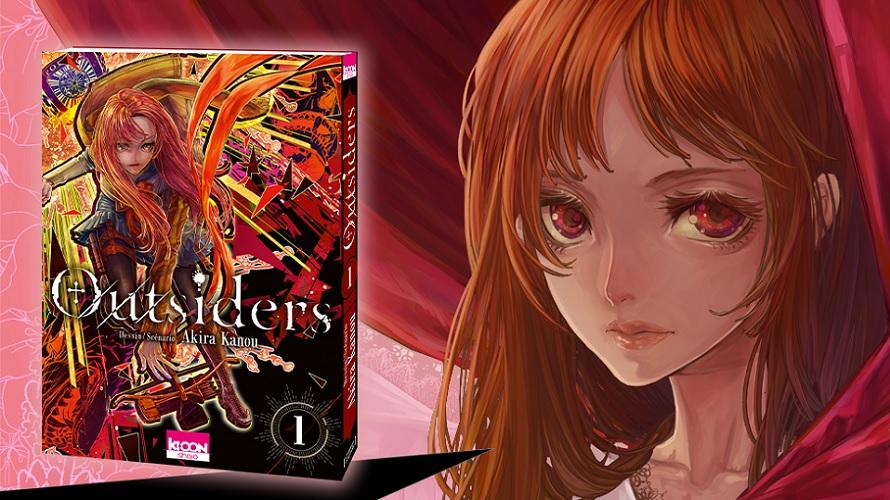 Critique manga : «Outsiders»